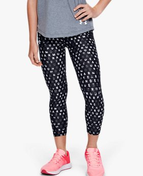 Meisjeslegging HeatGear® Armour Printed Ankle Crop